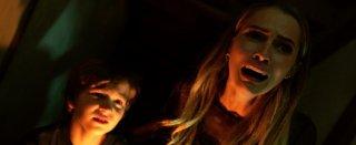 Lights Out - Terrore nel buio: Gabriel Bateman in una spaventosa scena del film