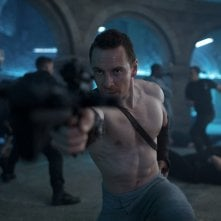 Assassin's Creed: l'attore Michael Fassbender in una foto del film