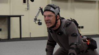 Lo Hobbit: La desolazione di Smaug - Benedict Cumberbatch crea il drago in motion picture