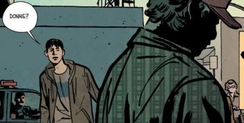 Outcast: un panel dei comics
