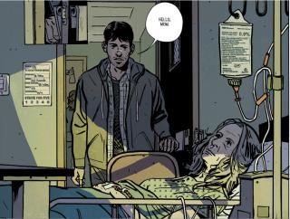 Outcast: un panel del comic