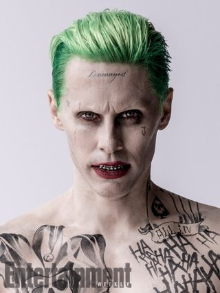 Suicide Squad: Jared Leto in un'immagine promozionale