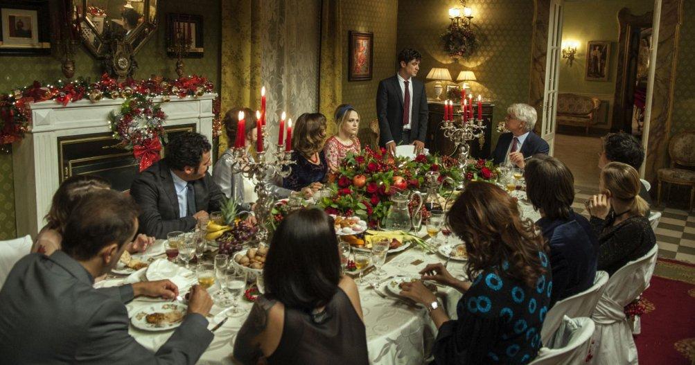 La cena di Natale: la prima immagine del film