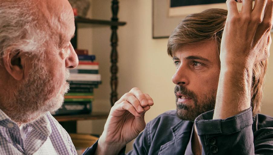 L'intelligenza del maschio: Kim Rossi Stuart sul set del suo nuovo film