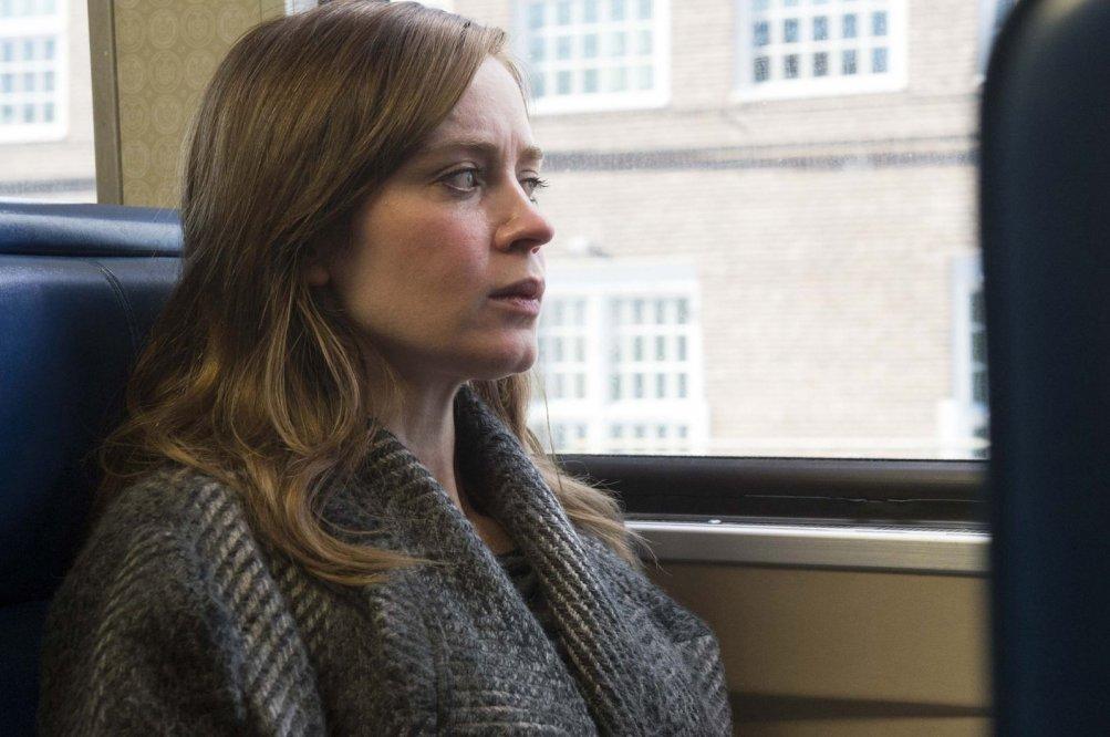 La ragazza del treno: Emily Blunt in una scena del film