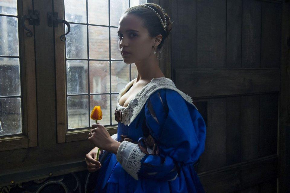 Tulip Fever: Alicia Vikander in un'immagine del film