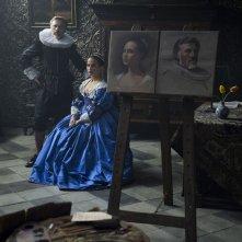 Tulip Fever: Alicia Vikander e Christoph Waltz in un'immagine del film