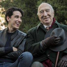 Tutto quello che vuoi: Giuliano Montaldo e Andrea Carpenzano in un'immagine promozionale del film