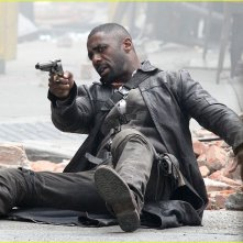 The Dark Tower: Idris Elba in azione sul set