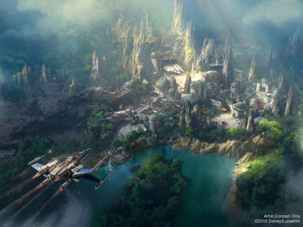 Star Wars: una nuova immagine del parco tematico