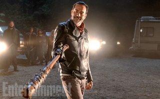 The Walking Dead: Negan in una foto della settima stagione