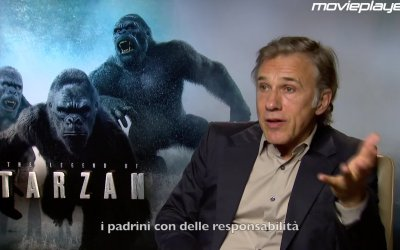 The Legend of Tarzan: Video intervista a Christoph Waltz