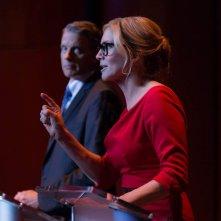 La notte del giudizio - Election Year: Kyle Secor ed Elizabeth Mitchell in una scena del film