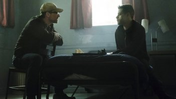 Mr. Robot: Christian Slater e Rami Malek in eps2.0_unm4sk.tc