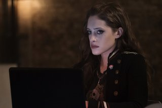 Mr. Robot: un'immagine di Carly Chaikin in eps2.0_unm4sk.tc