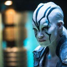 Star Trek Beyond: Sofia Boutella in una scena del film