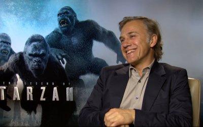 """The Legend of Tarzan, Christoph Waltz è il villain: """"Do il meglio della mia malvagità a tavola"""""""