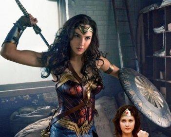 Wonder Woman: Gal Gadot in una foto promozionale