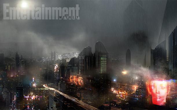 Blade Runner sequel: un concpet art del film
