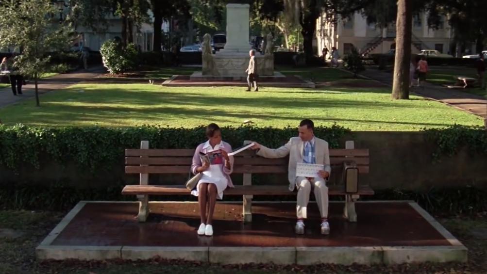 Forrest Gump: una celebre immagine del film