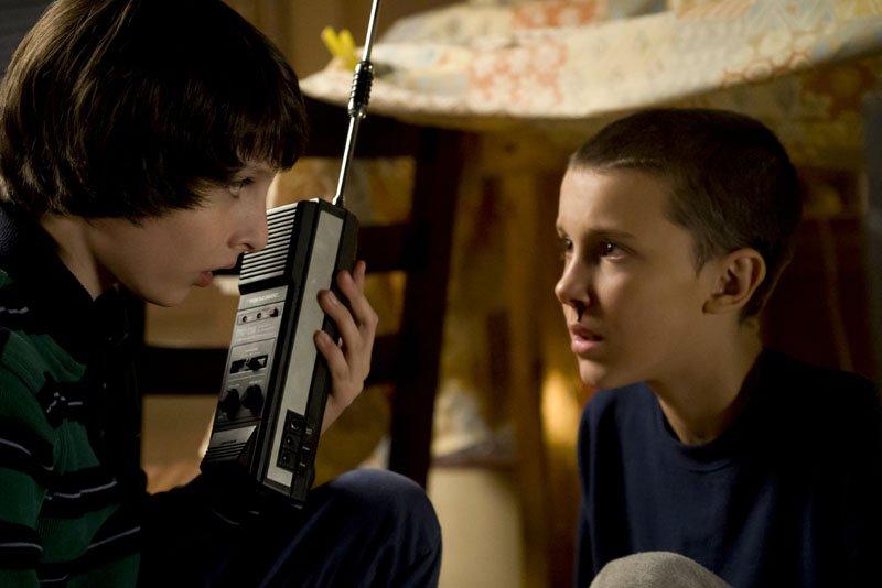Stranger Things: due dei giovani protagonisti dello show