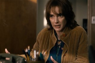 Stranger Things: una scena con Winona Ryder