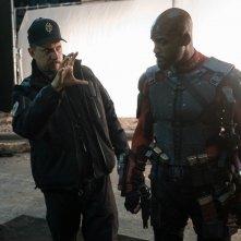 Suicide Squad: David Ayer e Will Smith sul set