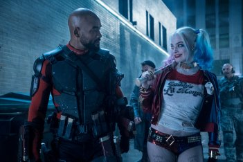 Suicide Squad: Margot Robbie e Will Smith in una scena del film