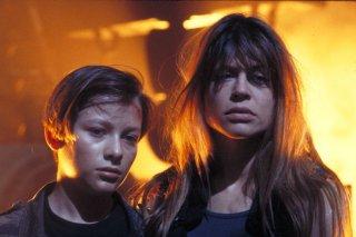 Terminator 2: Linda Hamilton ed Edward Furlong