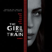 The Girl on the Train: il poster del film