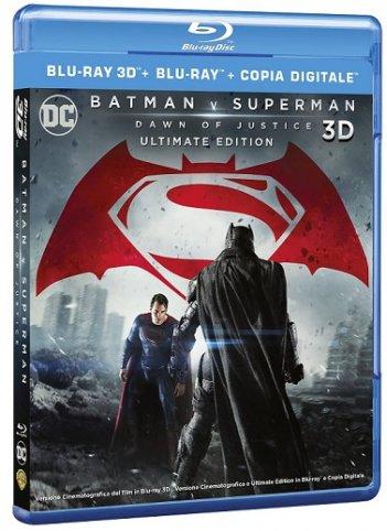 La cover di Batmanv v Superman 3D e 2D