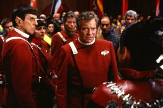 Star Trek VI: rotta verso l'ignoto - William Shatner e Leonard Nimoy in una scena del film