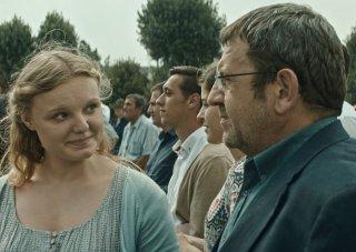 Bacalaureat: Adrian Titieni e Maria-Victoria Dragus in un momento del film