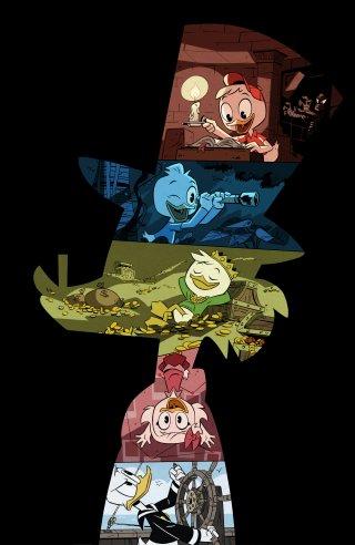 Ducktales: un'immagine realizzata per la serie tv