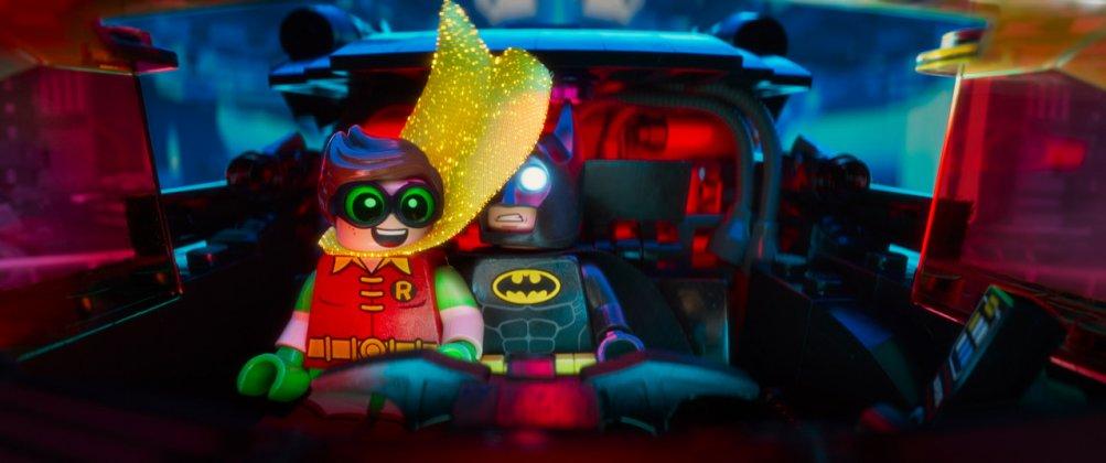 Lego Batman - Il film: Batman e Robin in un'immagine del film