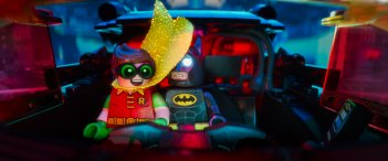 Lego Batman - Il film: Batman e Robin in un'immagine del film