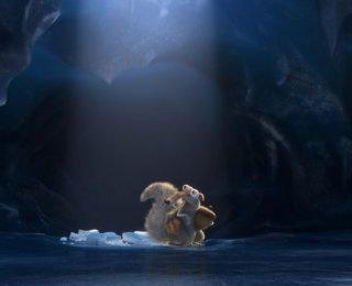 L'era glaciale - In rotta di collisione: un momento del film animato