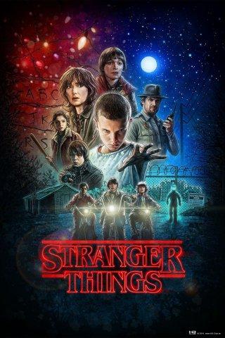 Stranger Things, il poster disegnato da Drew Struzan