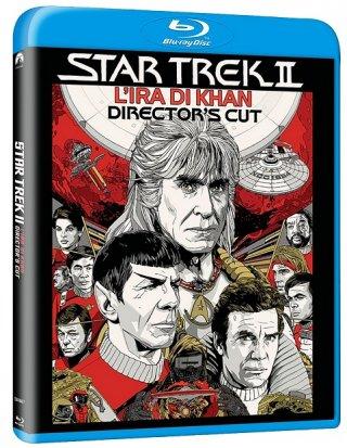 La cover del blu-ray di Star Trek II: L'ira di Khan - Director's Cut