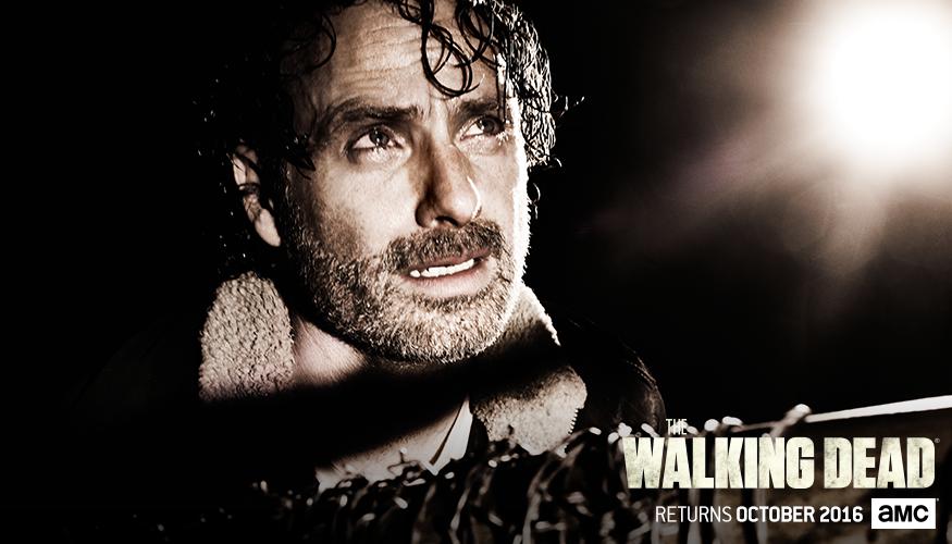 The Walking Dead: il poster dedicato a Rick