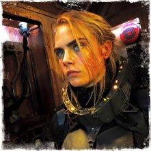 Valerian e la città dei mille pianeti: Cara Delevingne sul set