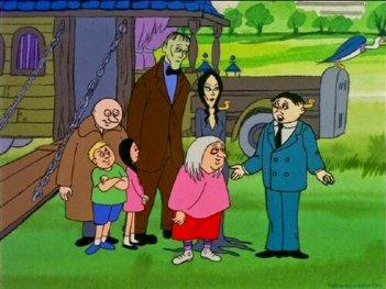 La famiglia Addams: un'immagine della serie