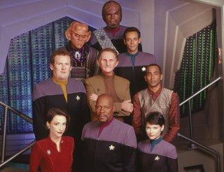 Star Trek - Deep Space Nine: un'immagine promozionale