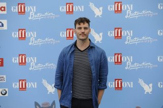 Sam Claflin al photocall di Giffoni 2016