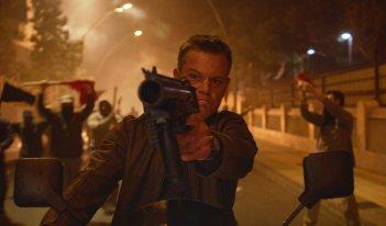 Jason Bourne: Matt Damon in un momento del film