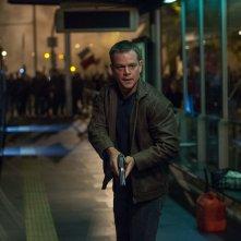 Jason Bourne: Matt Damon in azione in una scena del film