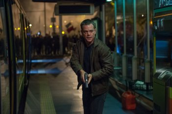 Jason Bourne: Matt Damon in azione in una scena del film