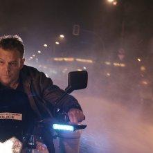 Jason Bourne: Matt Damon in una scena del film
