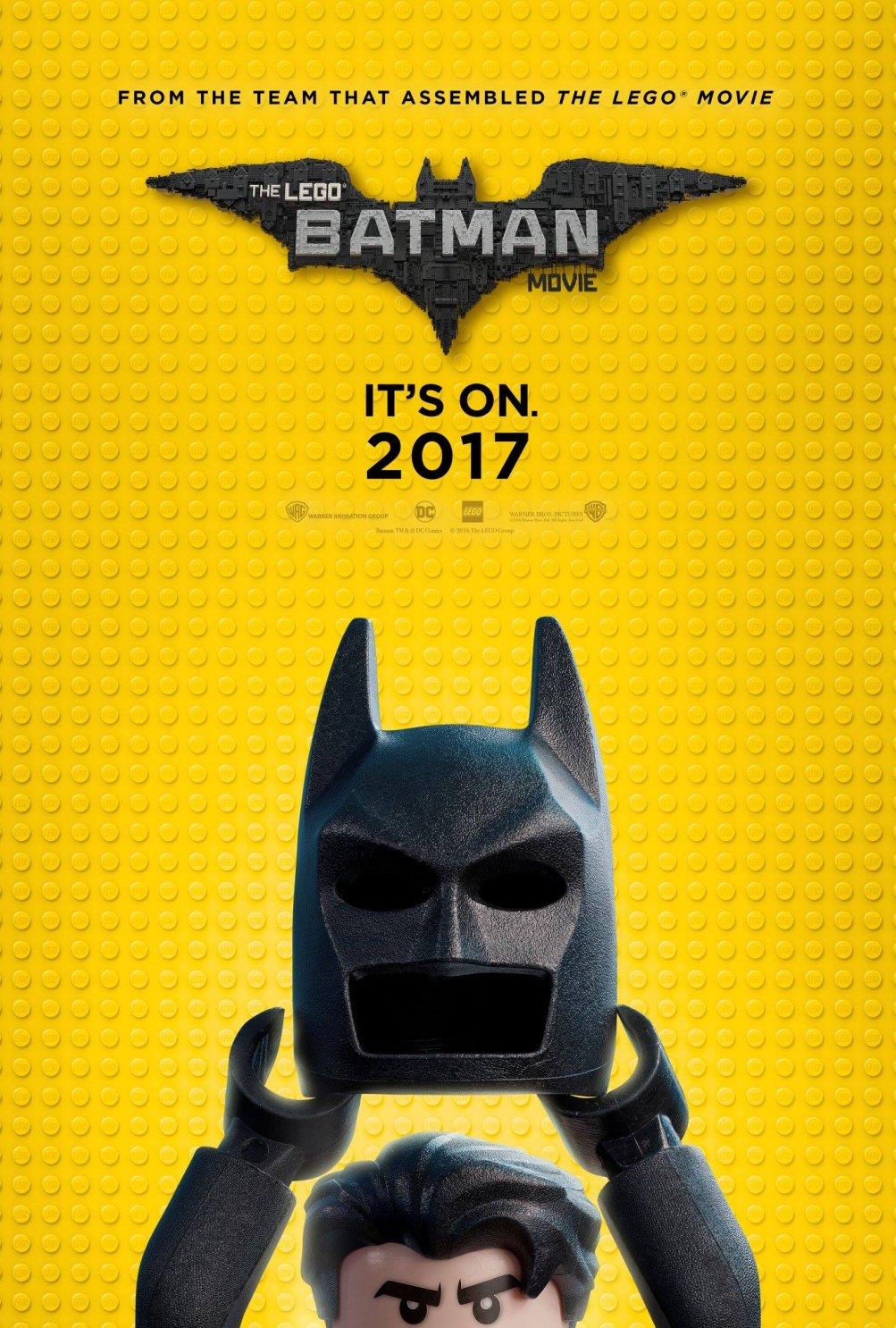 Lego Batman: la locandina del film