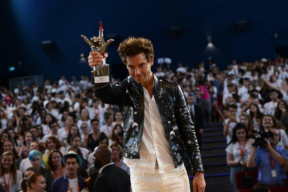 Mika ritira il Giffoni Award a Guffoni 2016